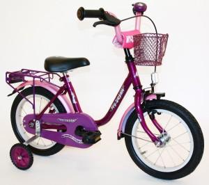 Kinderfahrrad My Dream in Pink/lila für Mädchen