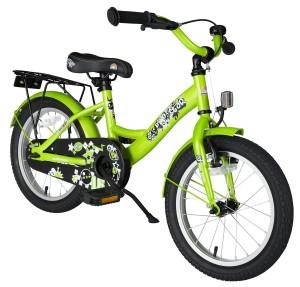 BIKESTAR® Premium Kinderfahrrad für Kinder ab 4 Jahren Brilliant Grün